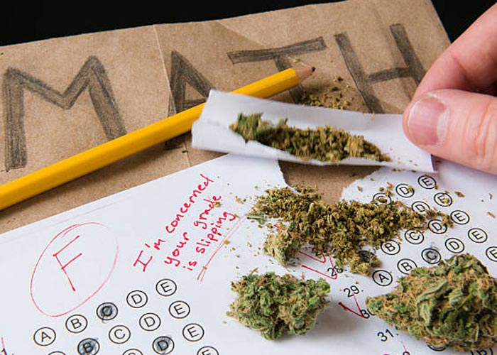 Drugs and school test